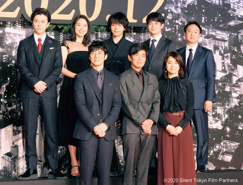 "Production announcement press conference for the support movie ""Sairento Tokyo"""